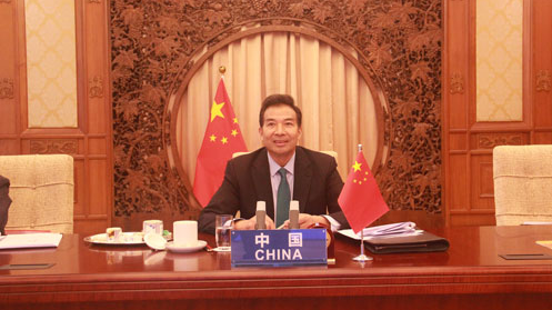 China calls on ASEAN countries to rally on COVID-19 and security despite US 'unilateralism'