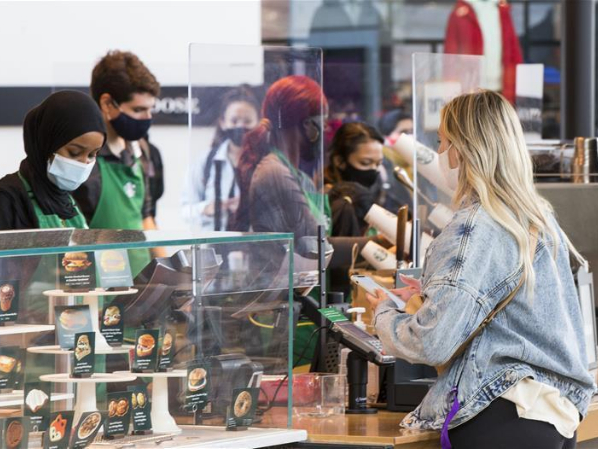 Starbucks imposes mandatory mask-wearing in Canada