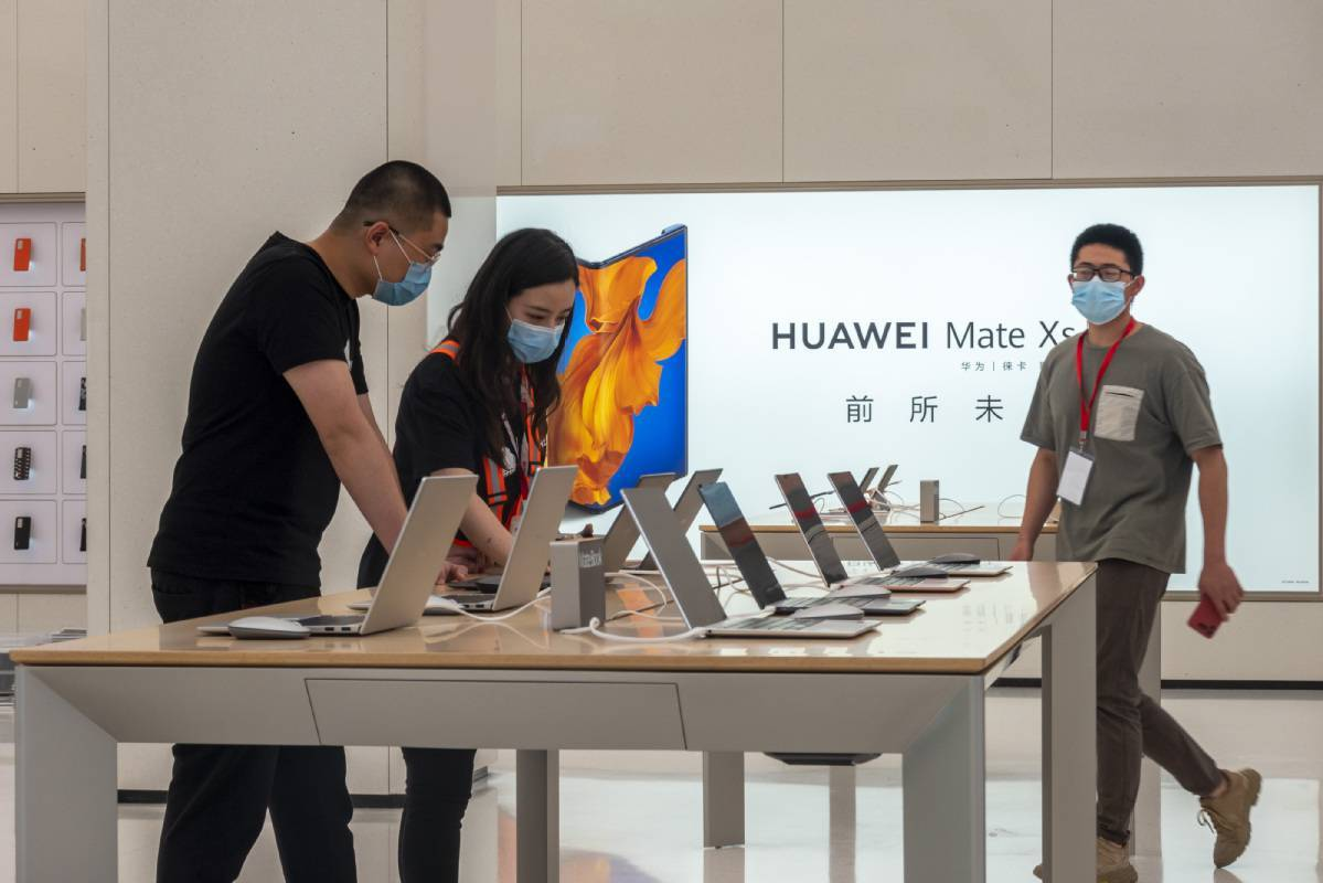 Huawei in spotlight as it tackles tech curbs