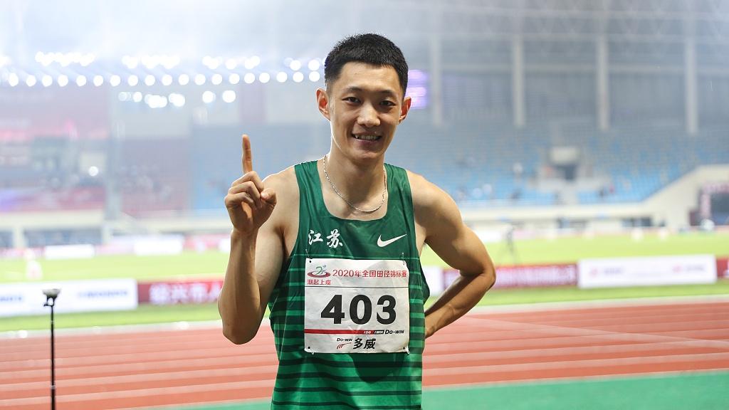 Chinese long jumper sets world season's best of 8.36m