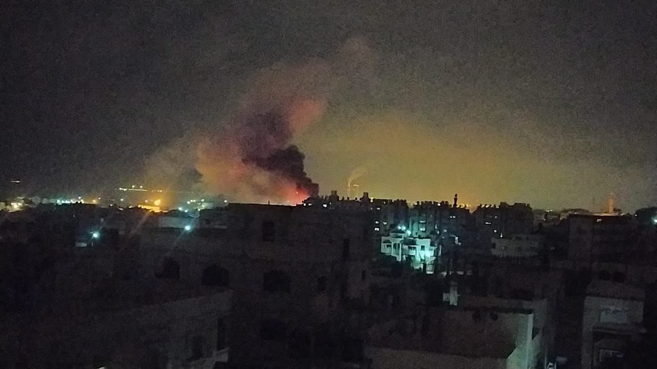 Israel bombs Gaza after rocket attack: Palestinian security sources