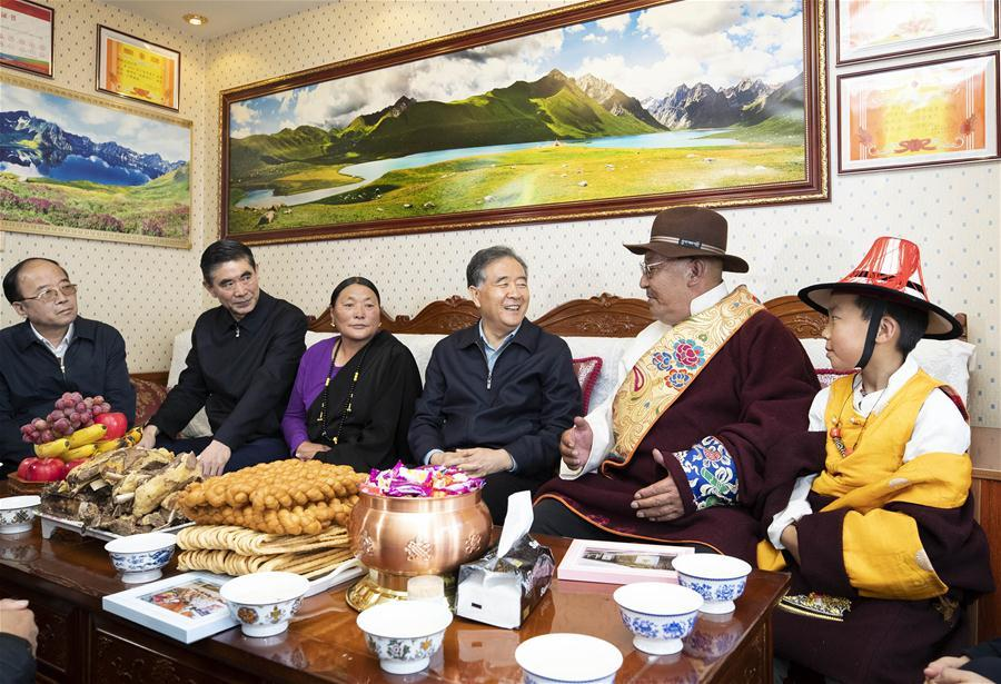 Top political advisor stresses importance of implementing guiding principles from Tibet work meeting