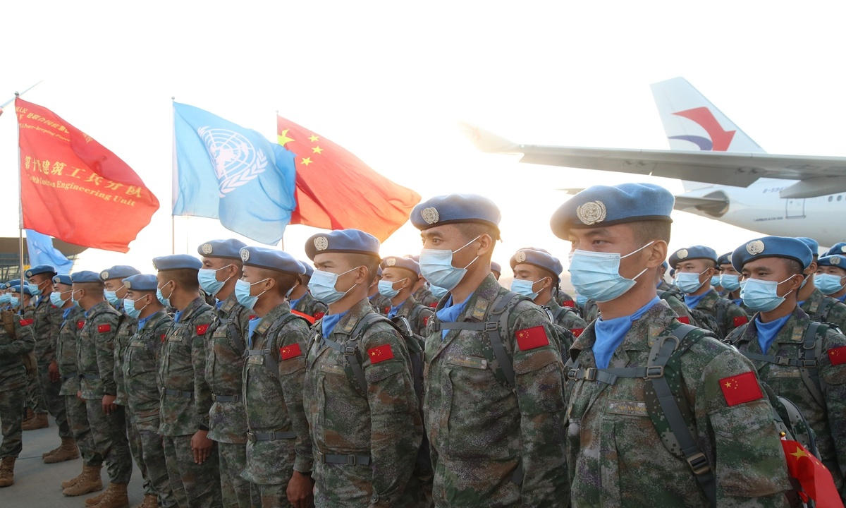 China's first documentary about its overseas peacekeeping forces to debut on Friday