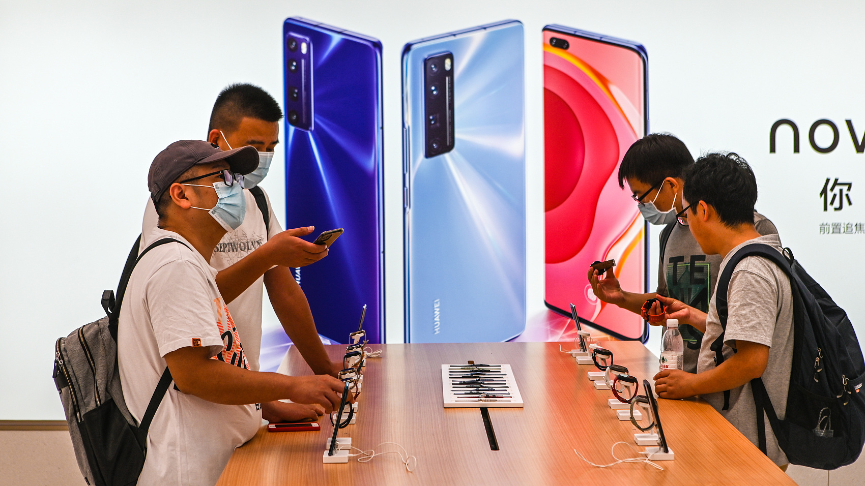 Huawei phone prices rise on fears of chip shortage