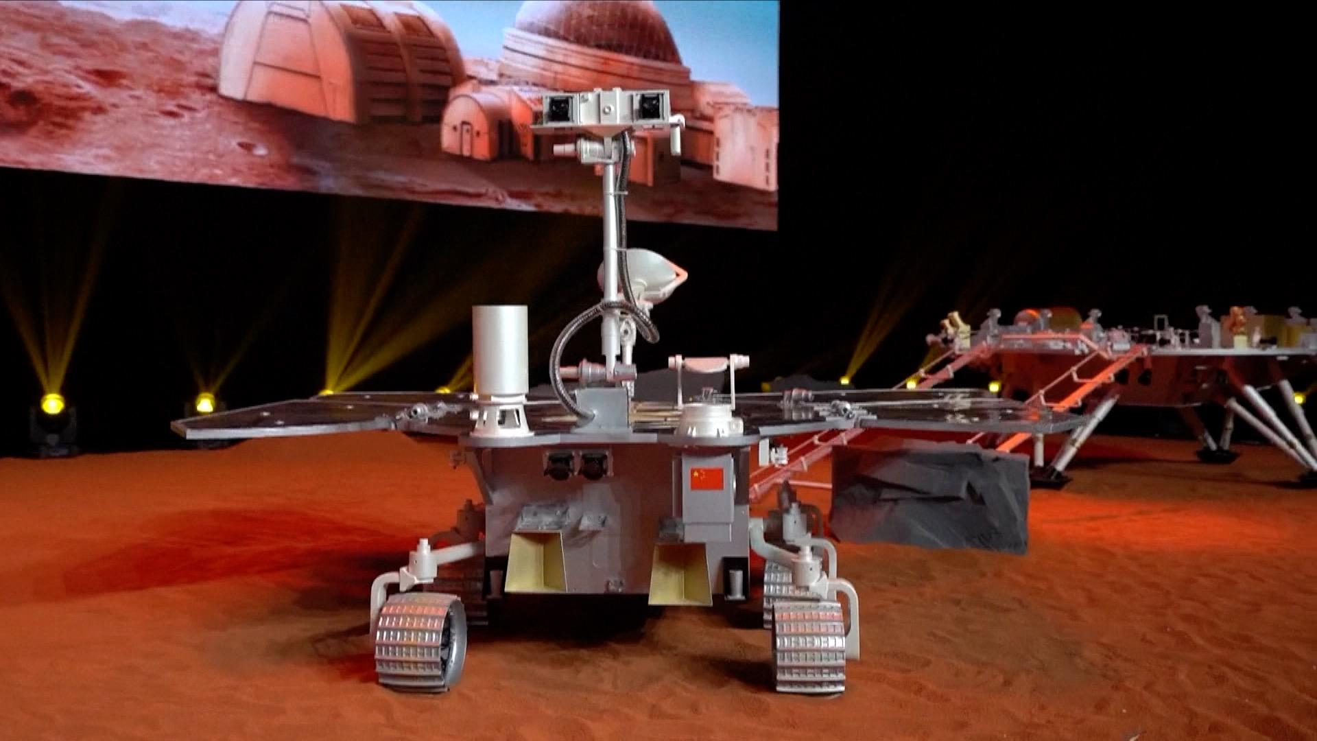 China's Mars probe travels 155 million km