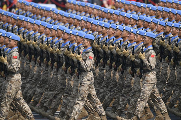 China issues white paper on its armed forces' participation in UN peacekeeping operations