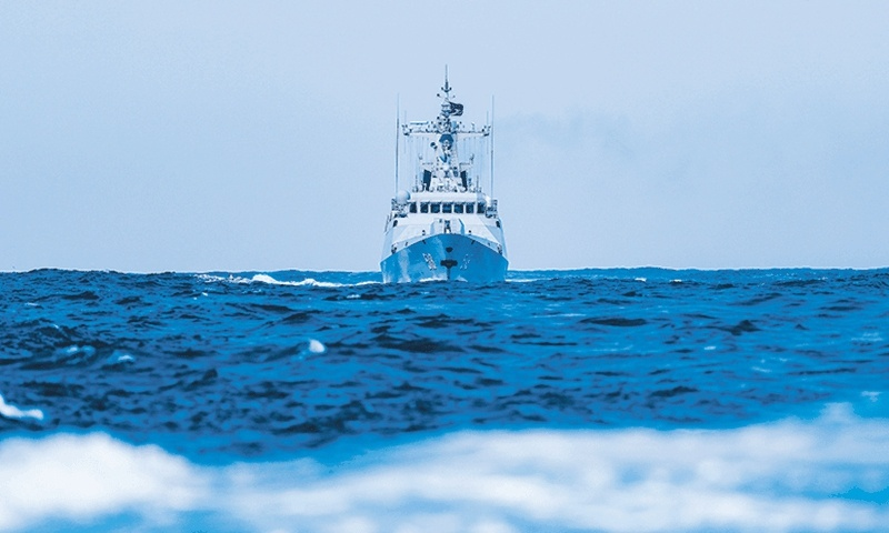 PLA starts real combat-oriented drills in Taiwan Straits amid Krach's visit