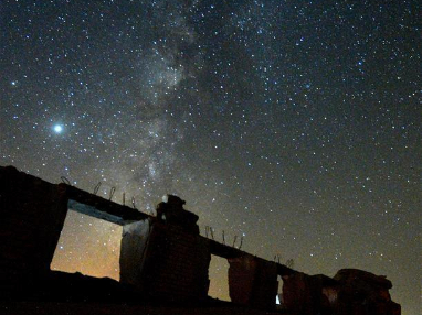 Milky Way in Jahra Governorate, Kuwait