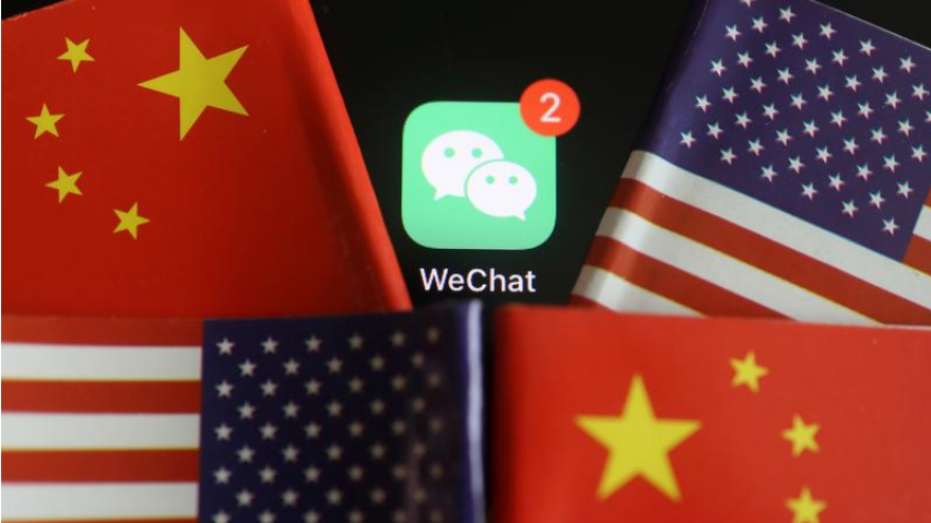 Tencent's WeChat app sees downloads surge before US ban
