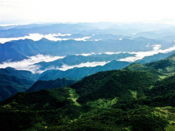 Zibai Mountain National Forest Park in Shaanxi