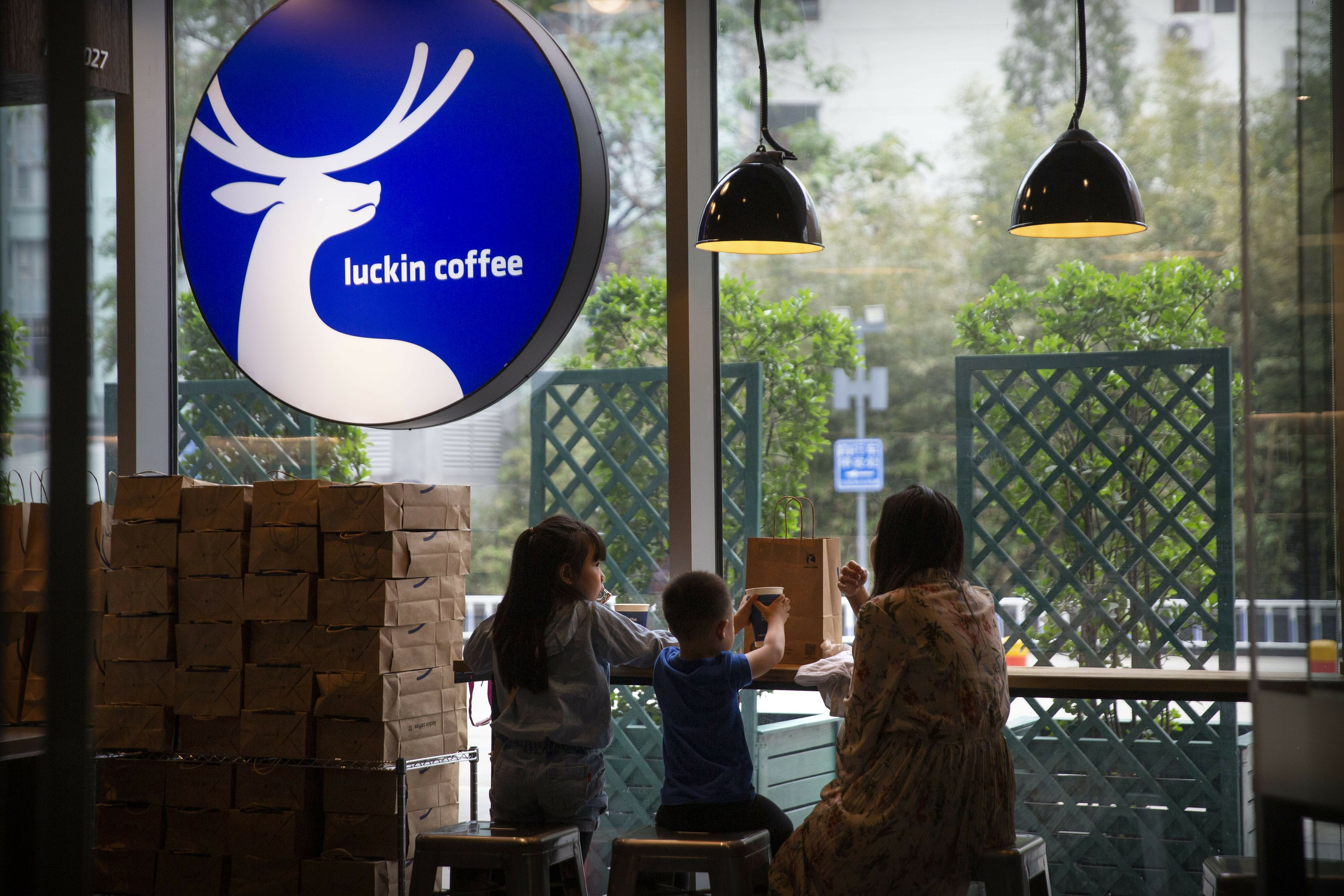 Luckin Coffee fined for sales fraud