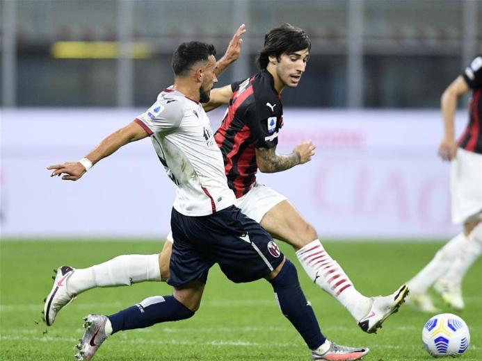 Serie A match: AC Milan vs. Bologna