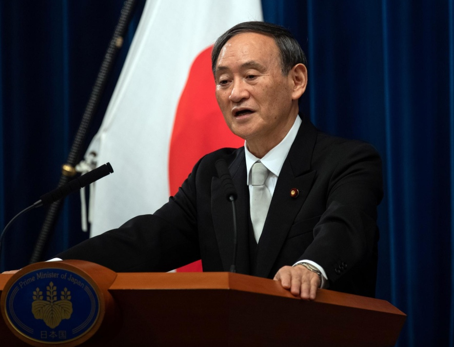 Will Suga lead Japan to new development phase?
