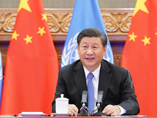 President Xi says China firmly supports UN central role in international affairs