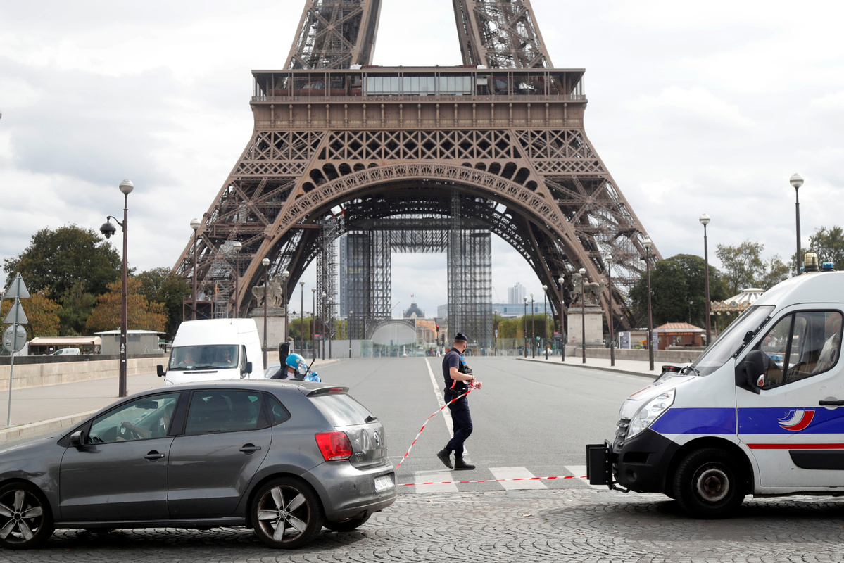 Eiffel Tower in Paris reopens after evacuation