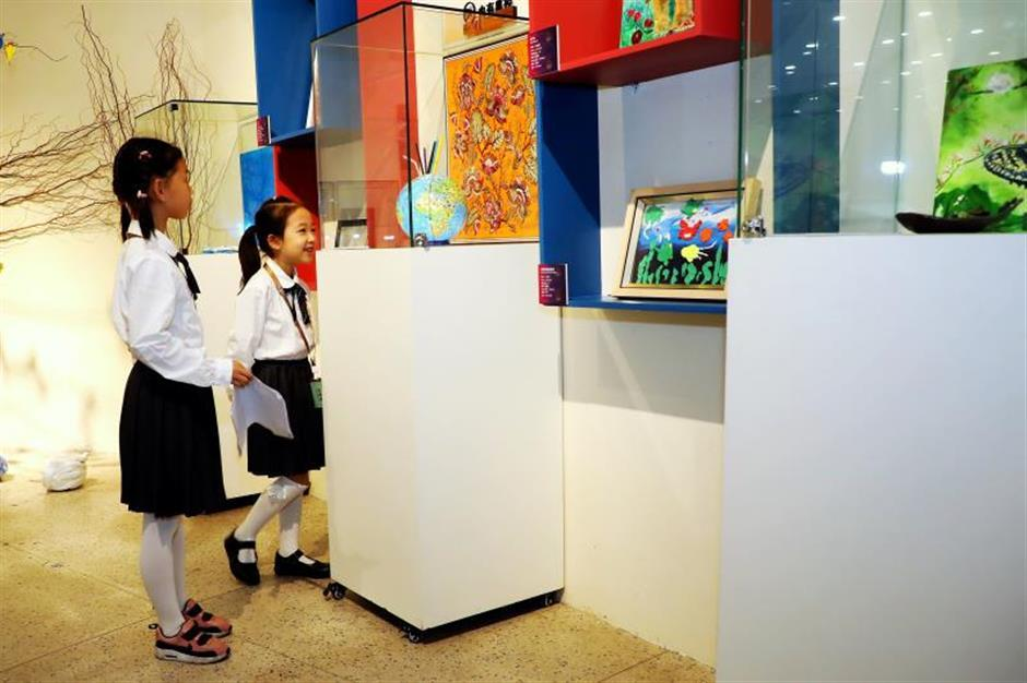 Teenagers' art on show at city exhibition