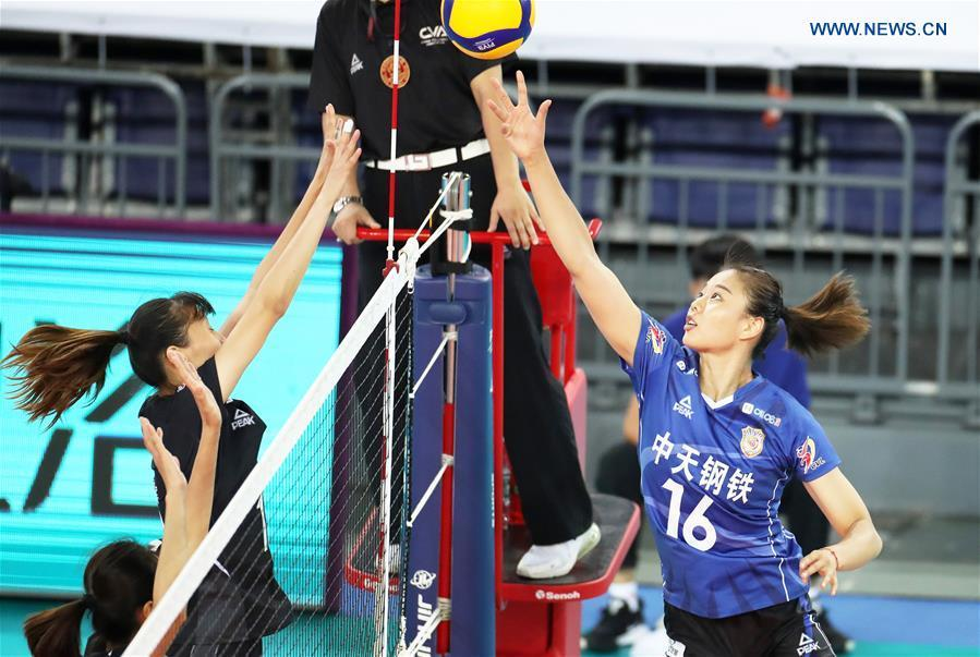 Highlights of 2020 Chinese Women's Volleyball Championship in Jiangmen