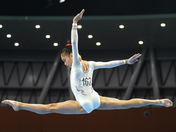 In pics: women's Team all-round final at Chinese National Artistic Gymnastics Championships