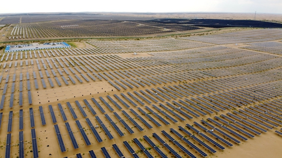 World's largest desert solar power station to link to China's national grid
