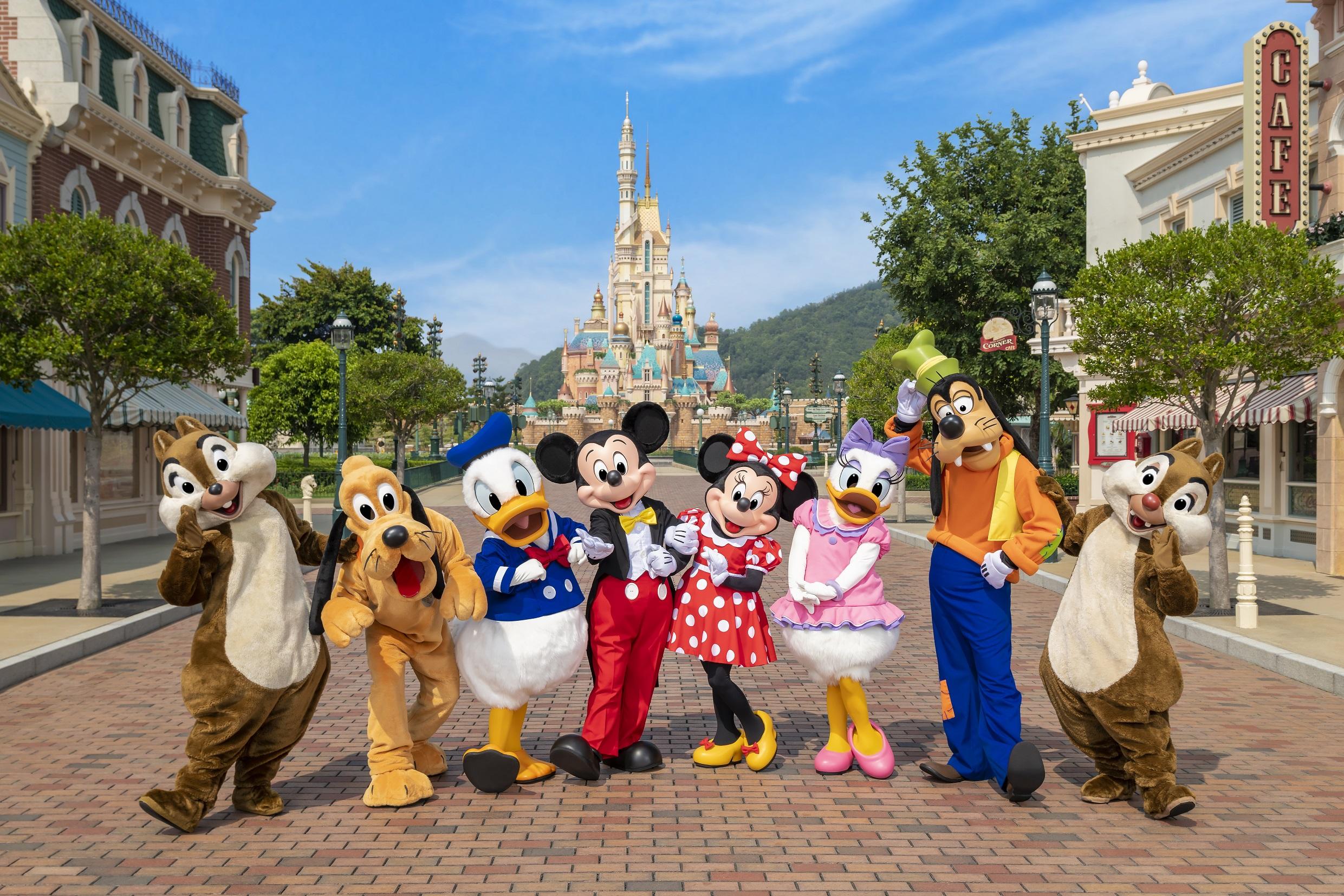 Hong Kong Disneyland reopens as COVID-19 eases