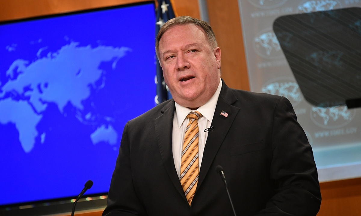 Weird remarks by Pompeo's advisor show sun setting on US hegemony