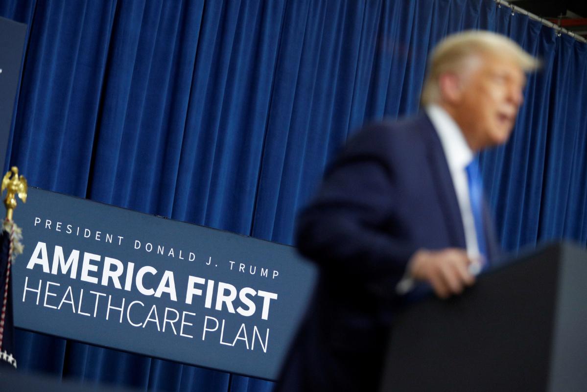Trump unveils agenda for health care