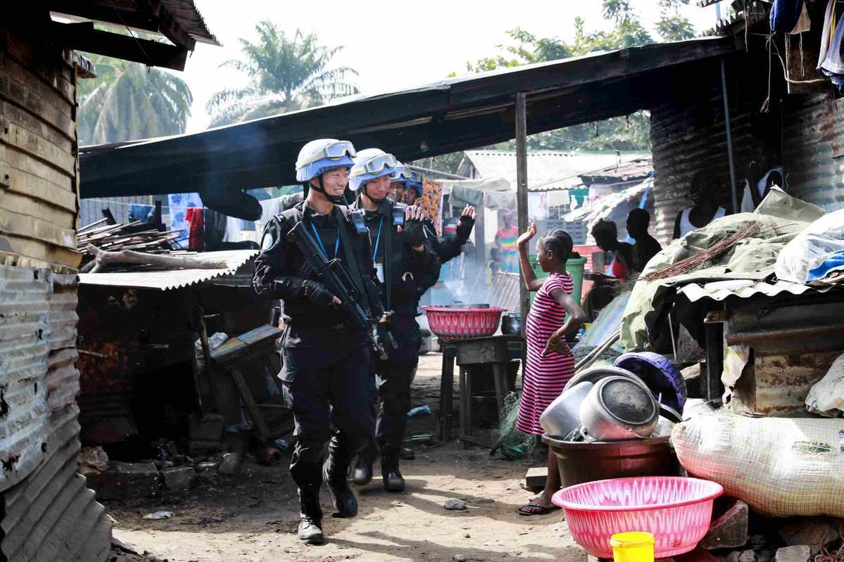 Peacekeeping police a 'pillar force', ministry official says
