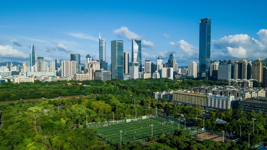 Shenzhen sees 20.7% annual GDP growth over 4 decades: mayor