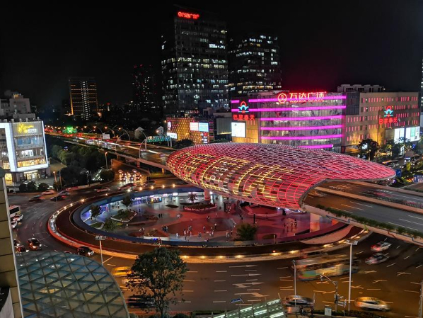 Wujiaochang gets upgraded holiday light display