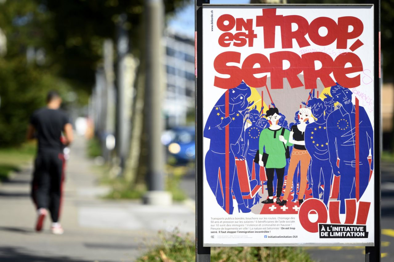 Swiss vote on limiting jobs, residency for EU citizens