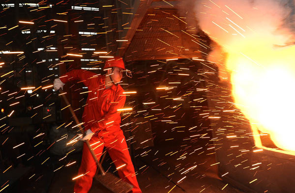 Low-carbon processes characterize steel industry growth