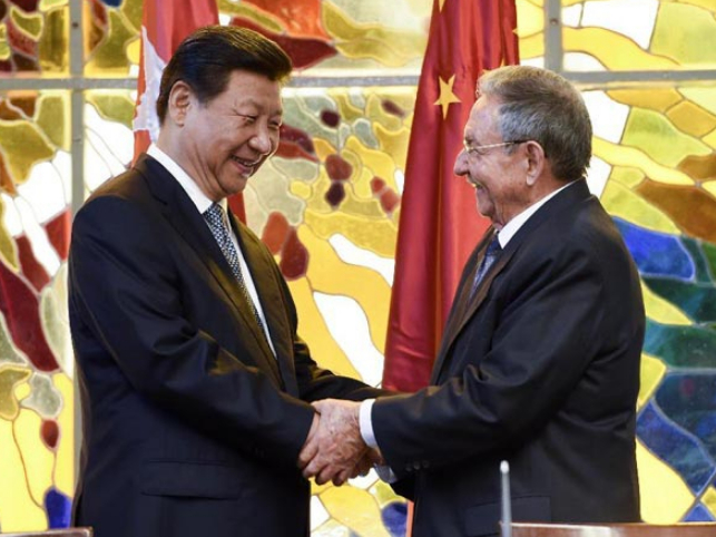 Xi eyes permanent friendship with Cuba