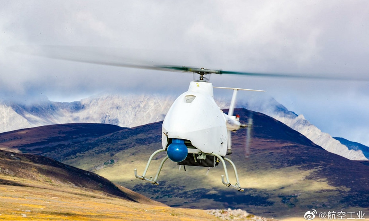 China's unmanned plateau helicopter completes high-altitude maiden flight