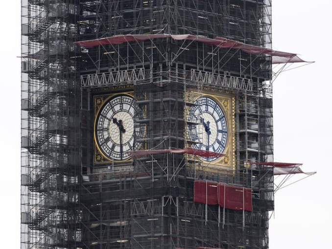 London's Big Ben to re-appear after three years hidden from view