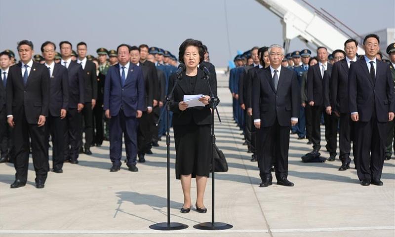 Chinese vice premier stresses passing on war-hero spirit