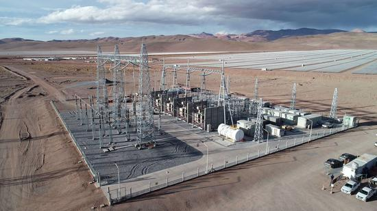 Chinese-built solar park launches commercial operations in Argentina