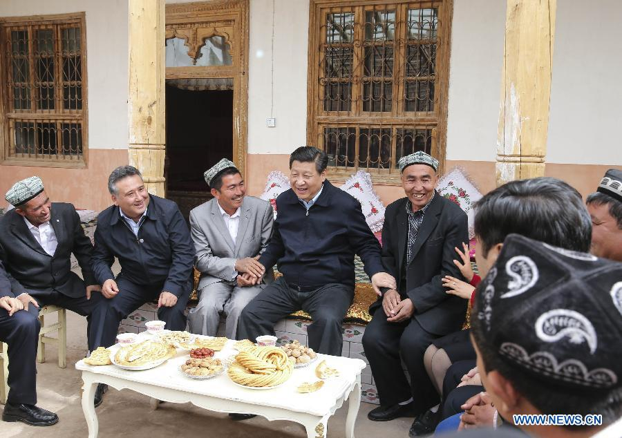 Stories about President Xi and NW China's Xinjiang
