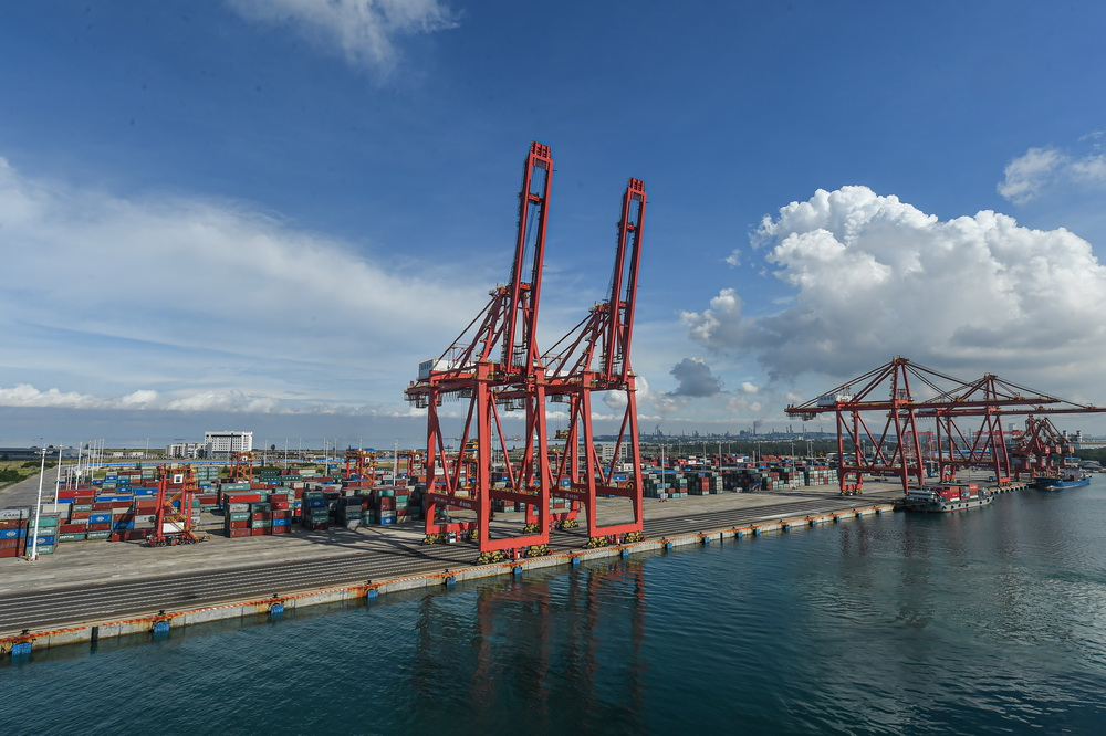 Hainan Free Trade Port opens its first intercontinental container route
