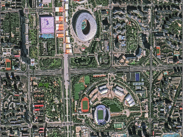 China releases first images from GFDM satellites