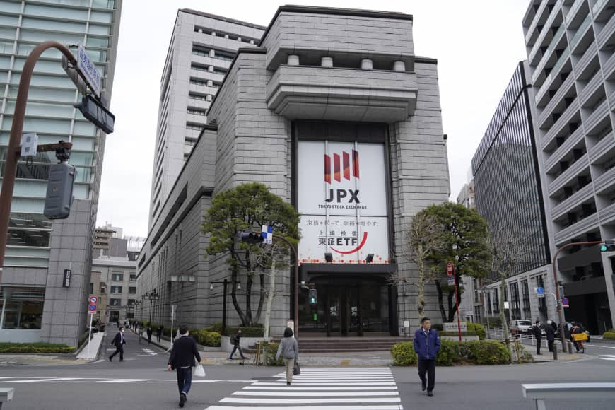 Tokyo stocks open lower on ex-dividend selling