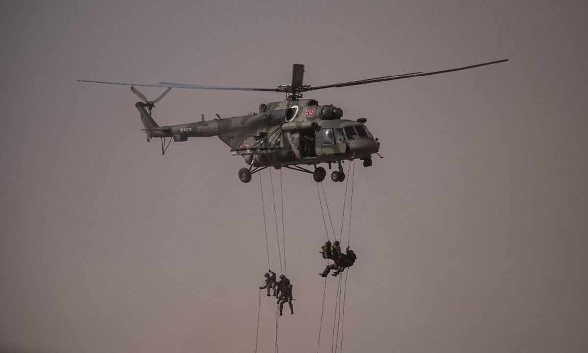 Caucasus drills illustrate countries' resolve to defend their core interests