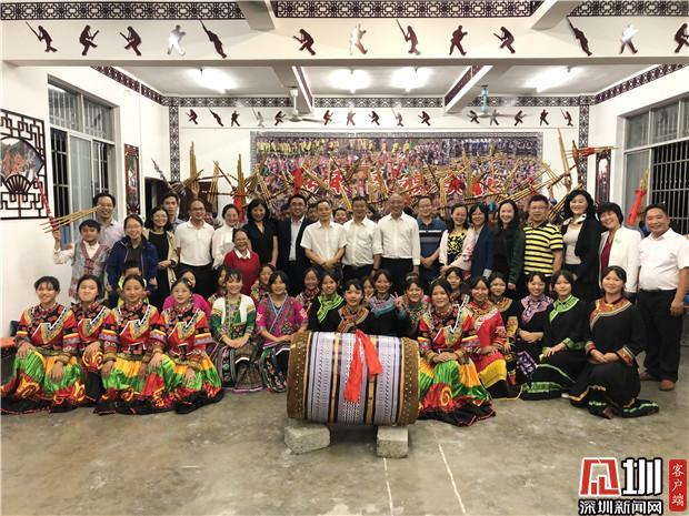 Luohu education delegation's productive visit to Longlin