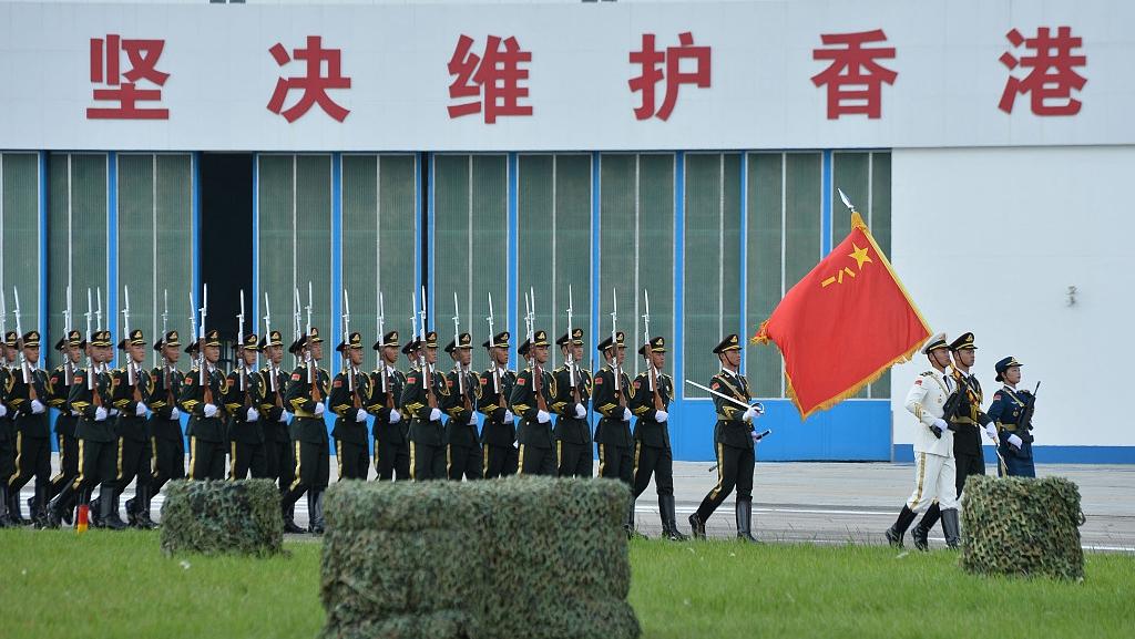 HKSAR govt hands over Central Military Dock to PLA Garrison