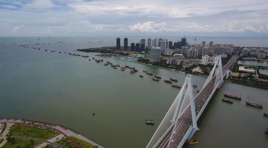South China's Hainan free trade port launches first inter-continental shipping line