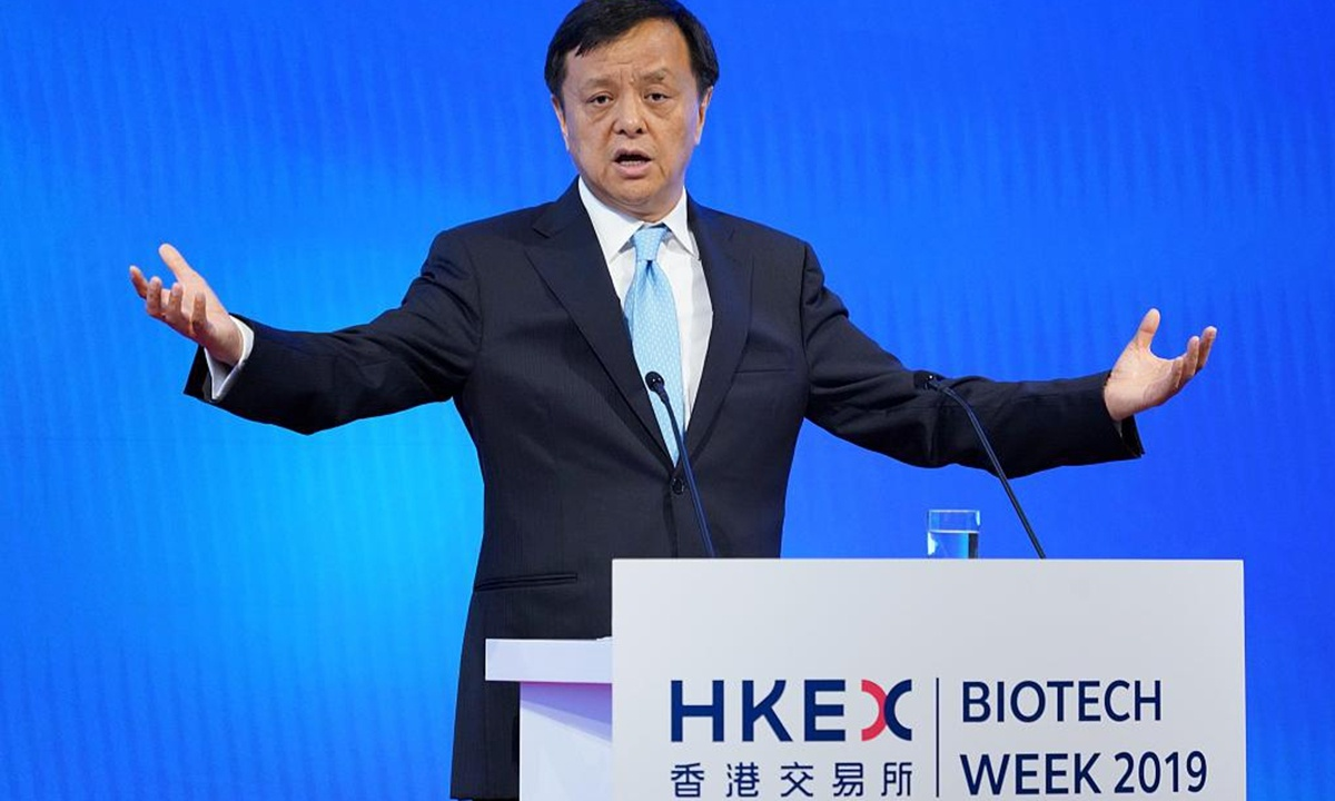 Calvin Tai Chi-kin to succeed Charles Li Xiaojia as HKEX chief executive