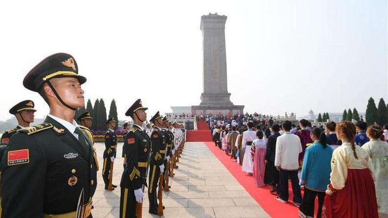 China holds ceremony to honor fallen heroes on Martyrs' Day
