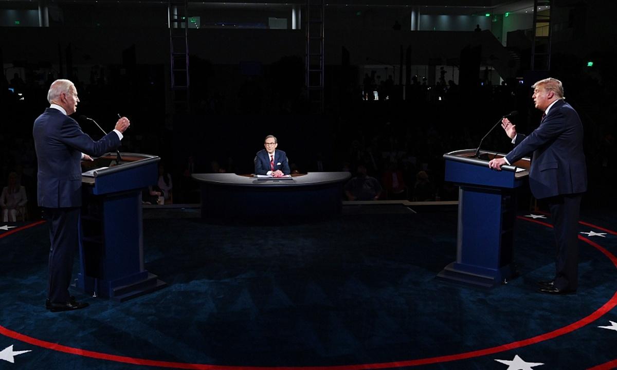 First Trump-Biden debate epitome of US chaos, sharp social division
