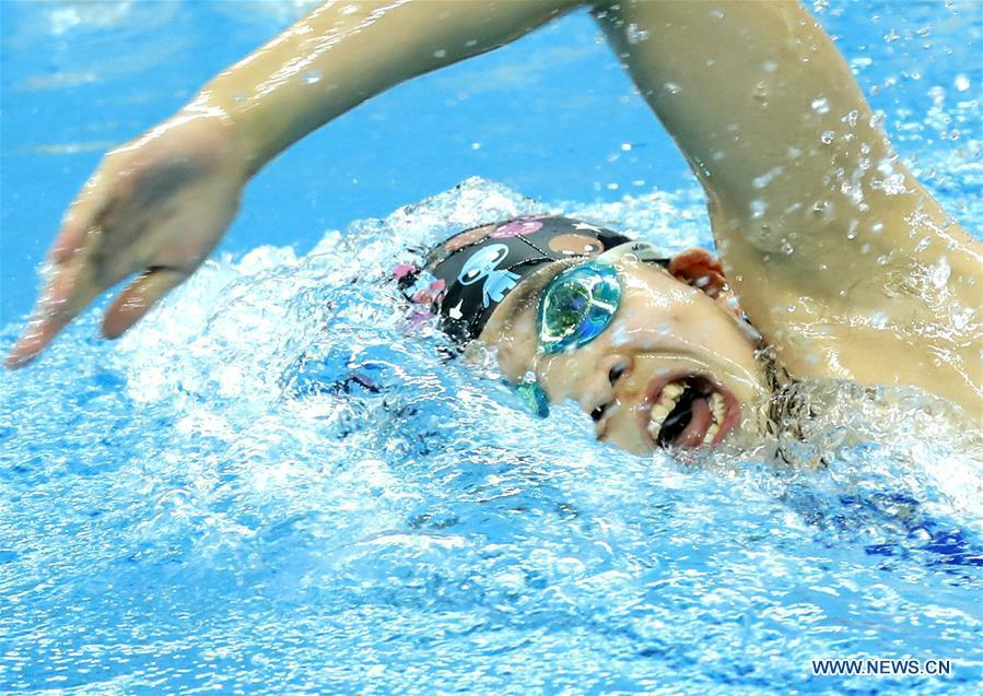 Highlights of Chinese National Swimming Championships on Oct. 1