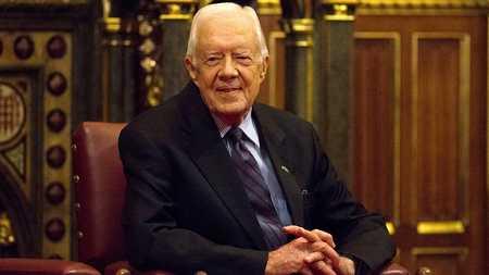 Jimmy Carter, oldest living former US president, turns 96