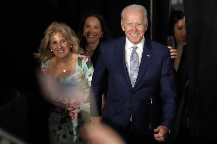 Biden, wife test negative for COVID-19